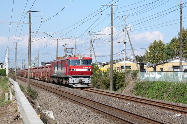 安中貨物 5094レ EH500-79牽引 (1)