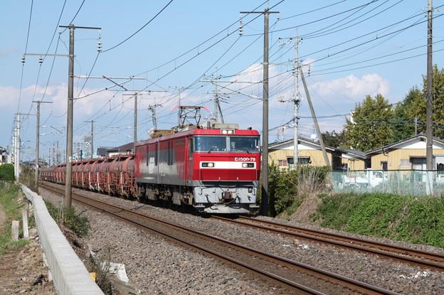 安中貨物 5094レ EH500-79牽引 (3)