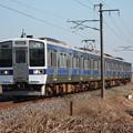 常磐線 415系1500番台K529編成 744M 普通小山行