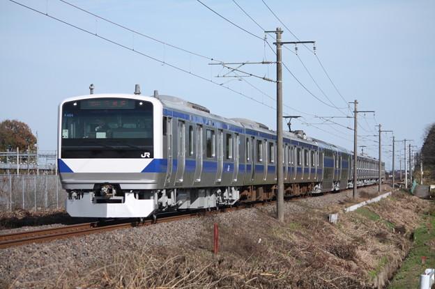 常磐線 E531系K404編成 388M 普通上野行
