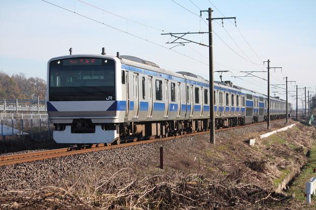 常磐線 E531系K413編成 354M 普通上野行
