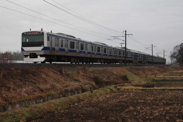 常磐線 E531系K410編成 354M 普通上野行