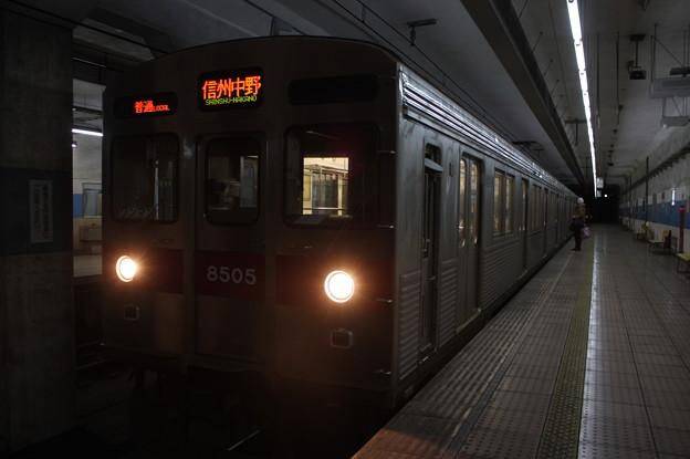 Photos: 長野電鉄8500系T5編成