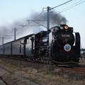 SL銚子 D51498+旧型客車+DE10 1752 (20)