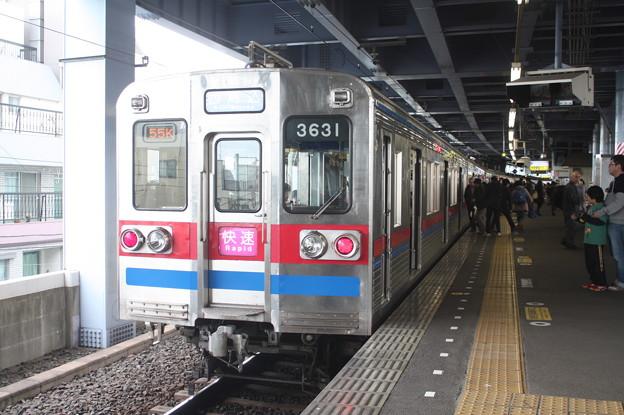 京成押上線 3600形3638編成