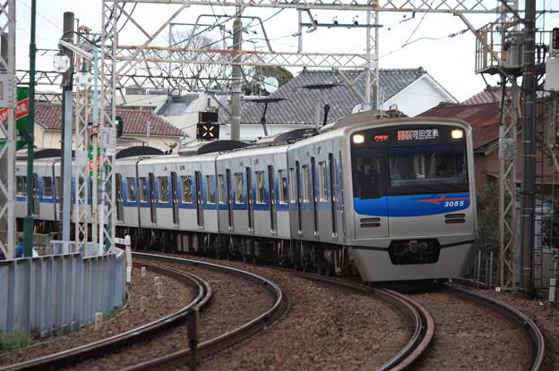 京成押上線 3050形3055編成