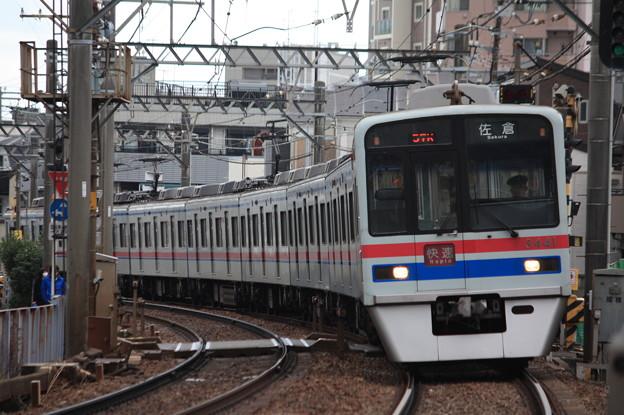 京成押上線 3400形3448編成