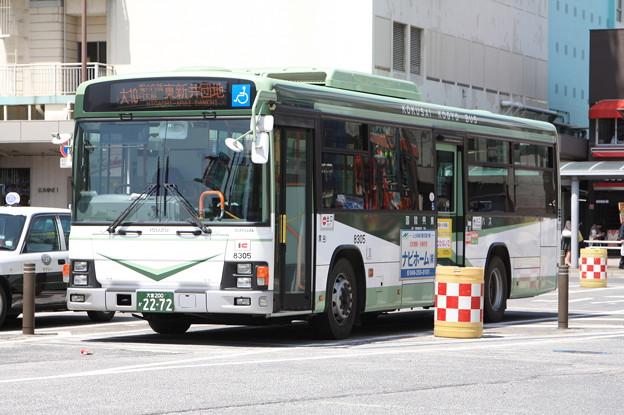 国際興業バス 8305号車