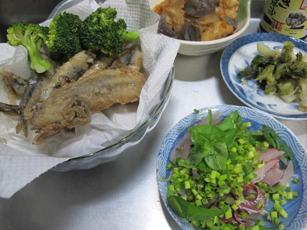 釣果で晩餐(2015_12_08)