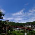 天女橋天女が舞い降りた( かどうかは定かではない) と言われる長野県伊那市高遠町の伝説的橋