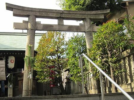 櫻田神社の鳥居