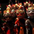 Photos: スンダ族の木彫り人形
