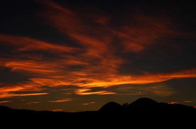 写真00021 そんな15分後見事な夕焼けが出現