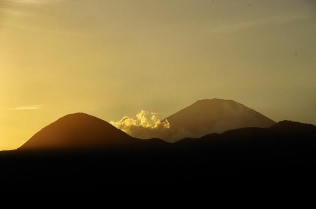 写真00005 その時の矢倉岳と富士山