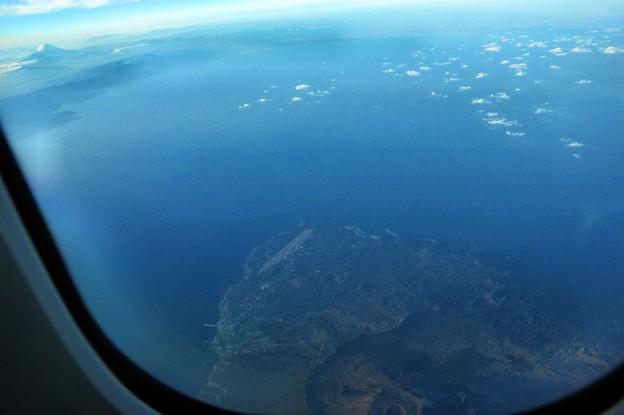 写真00748 伊豆大島と富士