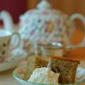写真: Tea time