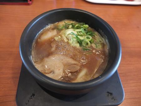 日の出らーめん 長野本店 剛つけめんチャーシュー大もり スープ器