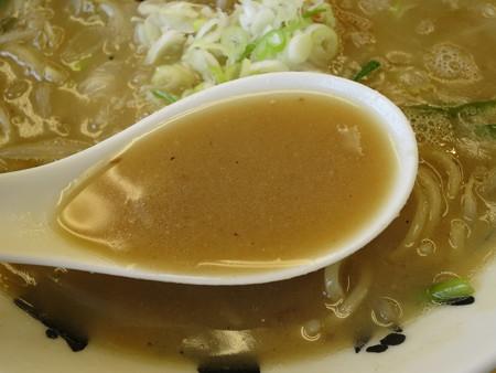 いなば製麺 超豚骨濃厚味噌らーめん スープアップ