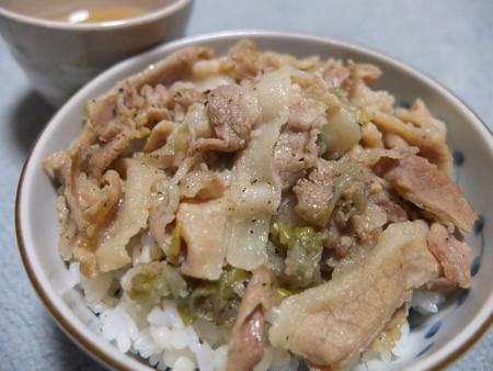 東京国立発祥 新名物 塩すた丼(お取り寄せ 小盛り)