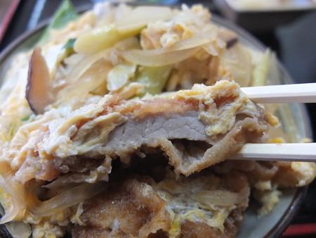 七福食堂 カツ丼 カツアップ