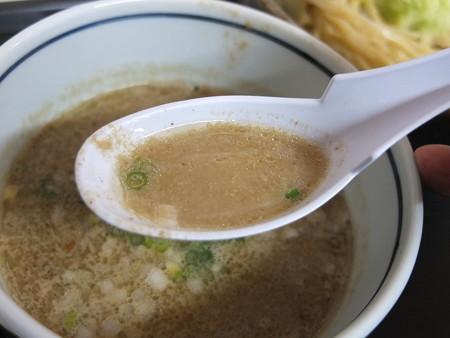 はな禅 麺魂(メンソール)~煮干しおろしつけそば~(限定) スープアップ