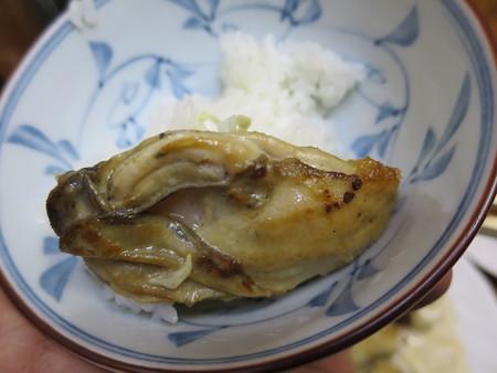小田保 カキミックス定食(10~4月まで) カキのバターソテーアップ