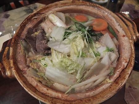 フライタイイング合宿2015 猪鍋