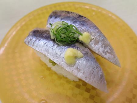 魚べい 上越高田店 酢〆いわし¥108