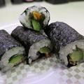 写真: 魚べい 上越高田店 柿の種 in the かっぱ巻¥108