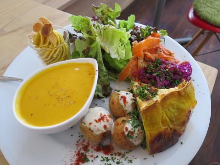Sucre(シュクレ) 期間限定生パスタランチ(1.5倍盛り) 前菜 アップ