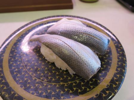 はま寿司 上越店 〆こはだ¥97(平日価格)
