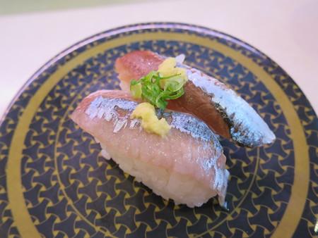 はま寿司 上越店 北海道・三陸産 さんま¥97(平日価格)