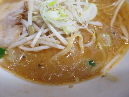 ラーメンとん太 蓮台寺PA下り店 味噌らーめん スープアップ