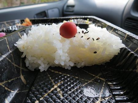 新潟あかねちゃん弁当 直江津店 あかねちゃん弁当 ご飯断面図