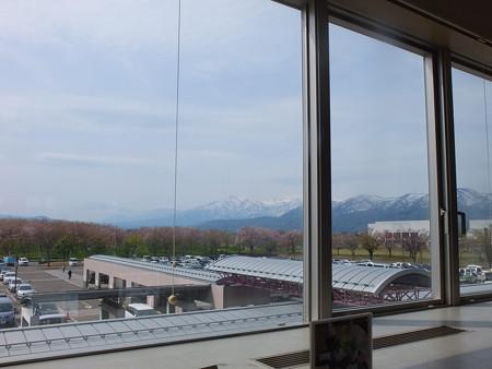 レストラン妙高 窓からの眺め
