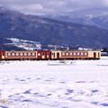 Photos: 飯山線雪景色 おいこっと