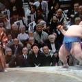 Photos: 10年ぶりの!日本出身力士!優勝!