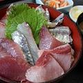 Photos: 安房鴨川 地魚料理 船よし/2階建て海鮮丼 1680円