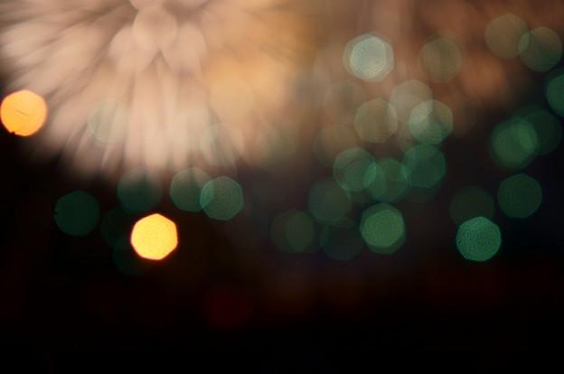 花火の煌めき