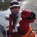写真: 釣り人は私
