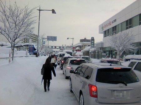 朝の西大通り(2) 20100205
