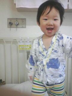 Photos: 病院の倖君