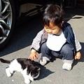 Photos: 猫と倖君