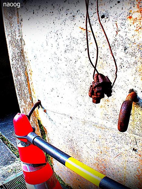 hang down