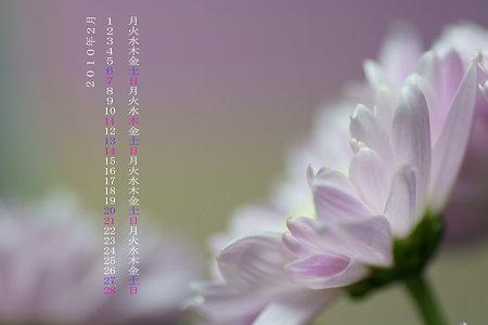 2010年2月カレンダー