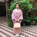Photos: 子供の卒業式に 羽織りも着ました