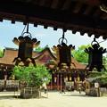 写真: 北野天満宮  拝殿