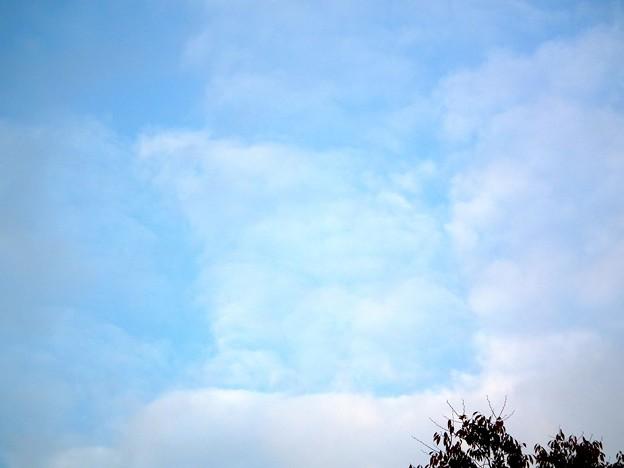 四角形の雲