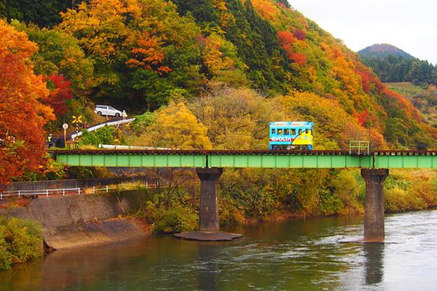 由利高原鉄道 エボルタ電車