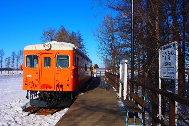 幸福駅跡 キハ22
